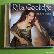 CDs de Música: RITA COOLIDGE - AND SO IS LOVE - 2005 - COMPRA MÍNIMA 3 EUROS. Lote 205173337