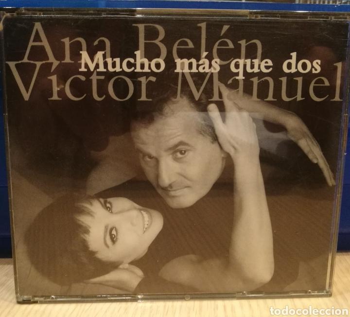 CD ANA BELÉN Y VÍCTOR MANUEL (Música - CD's Flamenco, Canción española y Cuplé)