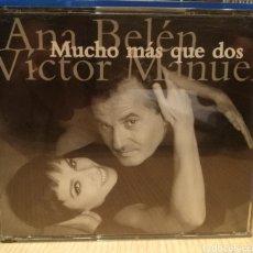 CDs de Música: CD ANA BELÉN Y VÍCTOR MANUEL. Lote 205189917