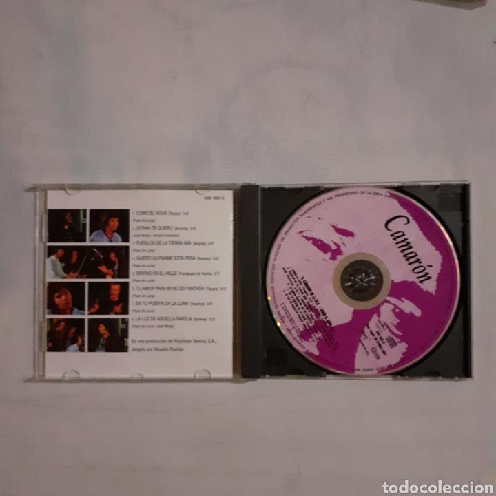 CDs de Música: Camaron. Como el agua. No probado. Valoración visual buen estado - Foto 2 - 205192380