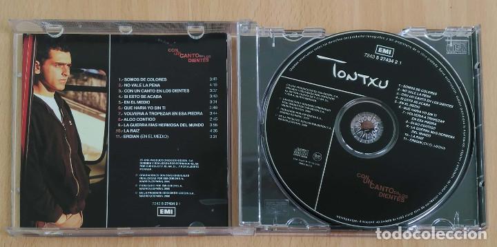 CDs de Música: TONTXU (CON UN CANTO EN LOS DIENTES) CD 2000 - Foto 3 - 205197208