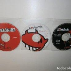 CDs de Música: PORTAL MIX. 3 CDS. Lote 205243396