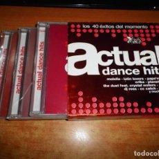 CDs de Música: ACTUAL DANCE HITS TRIPLE CD PRECINTADO 2003 MOLELLA LATIN LOVERS ERIKA MASH DJ ROSS CC CATH 3 CD. Lote 205247432