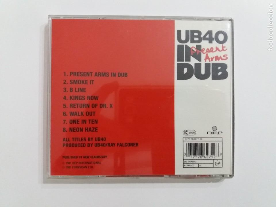 CDs de Música: CD UB40. PRESENT ARMS IN DUB. VIRGIN. 1981. - Foto 2 - 205257722