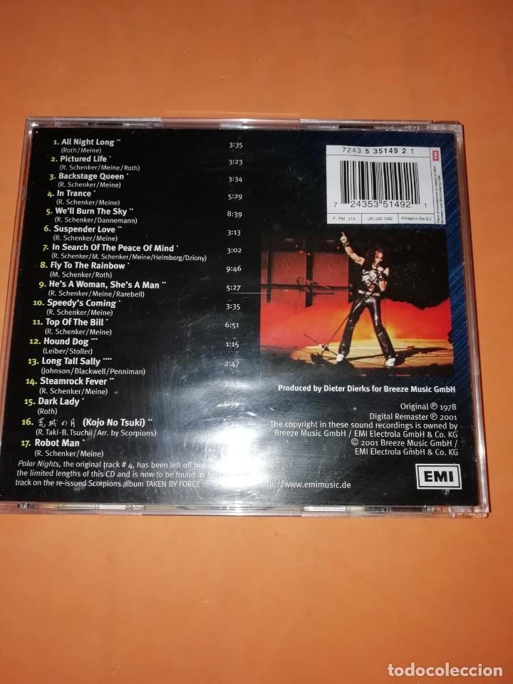 CDs de Música: SCORPIONS. TOKYO TAPES. EMI ELECTROLA GMBH & CO. KG 2001. ORIGINAL 1978 - Foto 2 - 205259278