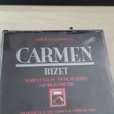 CDs de Música: CARMEN / OPERAS FAMOSAS BIZET / 3CDS ORIGINALES. Lote 205272976