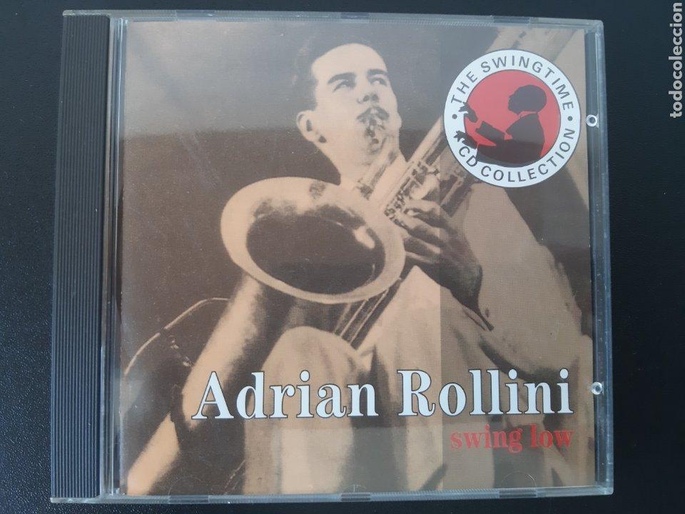 MUY DIFÍCIL!!! ADRIAN ROLLINI. SWING LOW. AFFINITY. COMPILATION. 1992 (Música - CD's Jazz, Blues, Soul y Gospel)