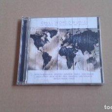 CDs de Música: CHILL WOLRD MUSIC LA MUSICA DE RELAJACION DEL MUNDO DOBLE CD 2002. Lote 205310137
