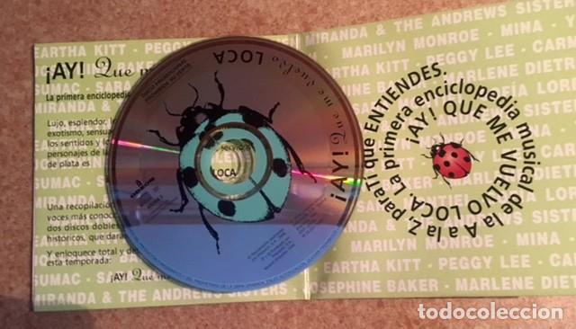 CDs de Música: PEGGY LEE. CARMEN MIRANDA, JOSEPHINE BAKER, MARLENE DIETRICH, MARYLIN MONROE, MINA, SARA MONTIEL... - Foto 2 - 216370096