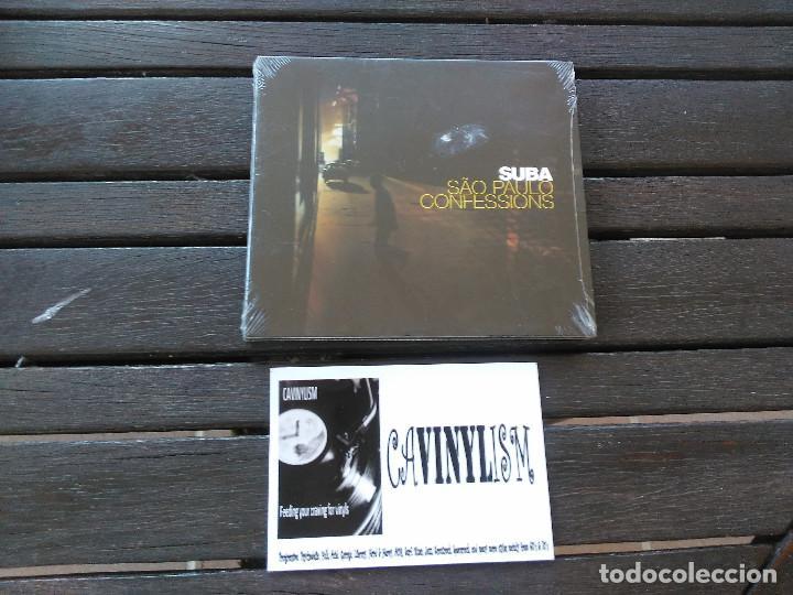 SUBA – SÃO PAULO CONFESSIONS CD ZIRIGUIBOOM – ZIR 03 NUEVO - PRECINTADO (Música - CD's Rock)