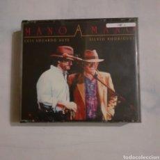 CDs de Música: MANO A MANO. LUIS EDUARDO AUTE Y SILVIO RODRIGUEZ. 2 CD. NO PROBADO.. Lote 205326087