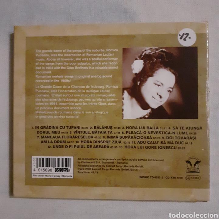 CDs de Música: Romica Puceanu and The Gore Brothers. Romania. 2006. No probado. - Foto 2 - 205326256