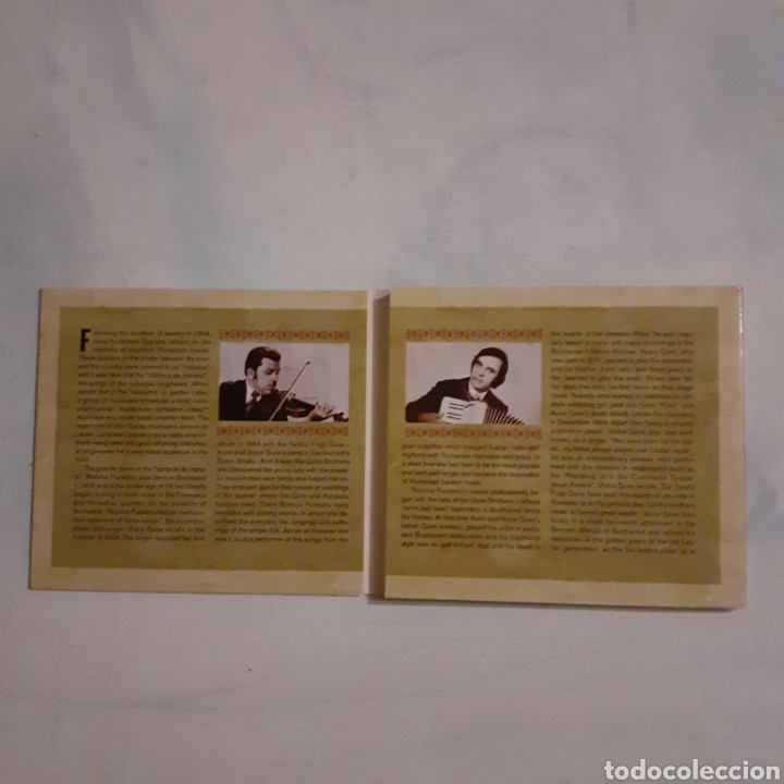 CDs de Música: Romica Puceanu and The Gore Brothers. Romania. 2006. No probado. - Foto 4 - 205326256