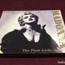 CDs de Música: MADONNA - THE PARIS GIRLIE SHOW '93, CD DOBLE, NO-OFICIAL, 1994, ITALIA, DIFÍCIL!OPORTUNIDAD ÚNICA!!. Lote 205326675