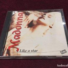 CDs de Música: MADONA - LIKE A STAR, CD DOBLE, NO-OFICIAL, 1994, ITALIA, MUY DIFÍCIL!! OPORTUNIDAD!!. Lote 205326796