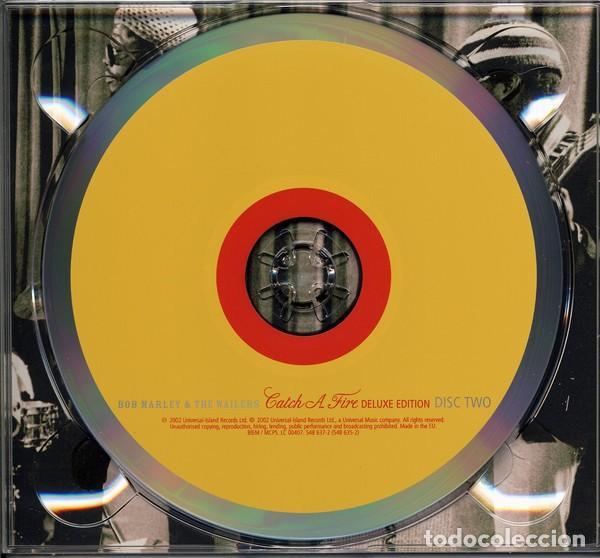 CDs de Música: BOB MARLEY & THE WAILERS CATCH A FIRE DIGIPACK 2 CDs NUEVO EDICIÓN DELUXE LIBRO 28 pag - Foto 6 - 205331748