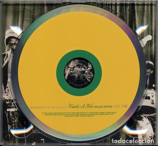 CDs de Música: BOB MARLEY & THE WAILERS CATCH A FIRE DIGIPACK 2 CDs NUEVO EDICIÓN DELUXE LIBRO 28 pag - Foto 7 - 205331748