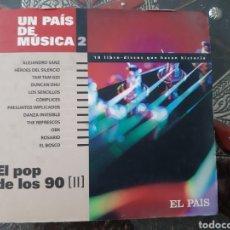 CDs de Música: EL POP DE LOS 90. LIBRETO Y CD. EL PAIS.. Lote 205367917