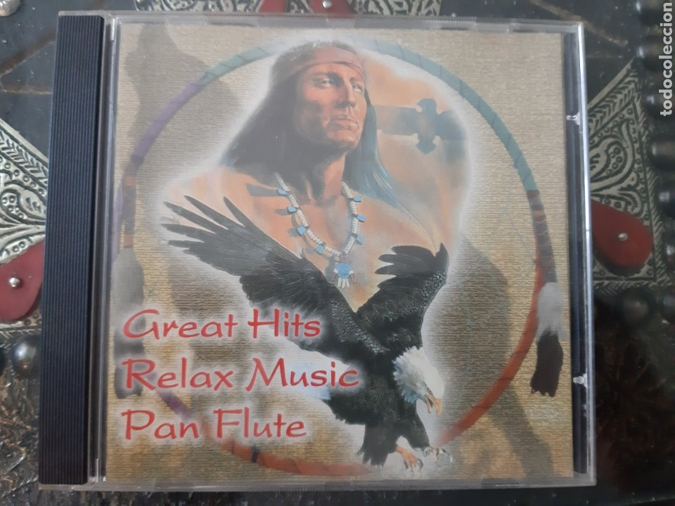 CDs de Música: GREATEST HITS RELAX MUSIC. PAN FLUTE. - Foto 1 - 205379880