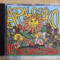 CDs de Música: A PALO SEKO (NO TODO EL MONTE ES OREGANO) CD 1998. Lote 205384011