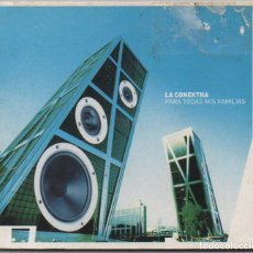 CDs de Música: LA CONEKTHA - PARA TODAS MIS FAMILIAS / DIGIPACK CD ALBUM DEL 2000 / MUY BUEN ESTADO RF-5802. Lote 219342357