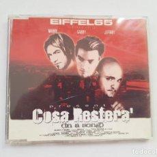 CDs de Musique: CD EIFFEL 65 - COSA RESTERA (IN A SONG) MAXI SINGLE. Lote 205394228
