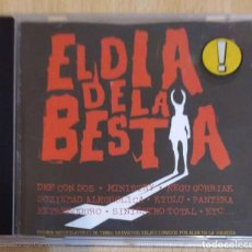 CDs de Música: B.S.O. EL DIA DE LA BESTIA - CD 1995 (EXTREMODURO, PANTERA, ESKORBUTO, SINIESTRO TOTAL...). Lote 205397248