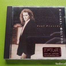 CDs de Música: MICHAEL BOLTON - SOUL PROVIDER - 1989 - COMPRA MÍNIMA 3 EUROS. Lote 205406936