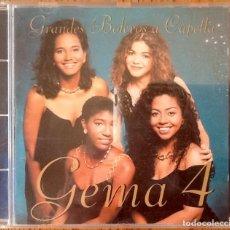 CDs de Música: GEMA 4 : GRANDES BOLEROS A CAPELLA [ESP 1994] CD. Lote 205407590