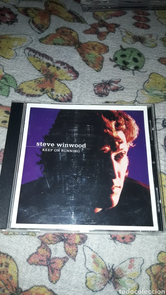STEVE WINWOOD. KEEP ON RUNNING. EDICION DE 1991. (Música - CD's Rock)