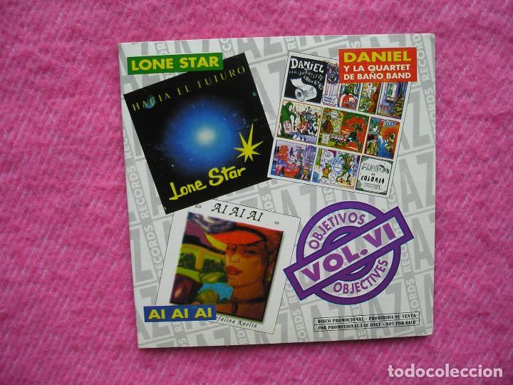CD LONE STAR 'HACIA EL FUTURO' + DANIEL Y LA QUARTET DE BAÑO BAND 'FLIPANDO EN COLORES' +.. .PROMO Ç (Música - CD's Rock)