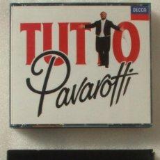 CDs de Música: PAVAROTTI. TUTTO PAVAROTI Y NIGHTS AT THE OPERA.. Lote 205433542
