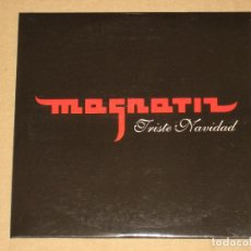 CDs de Música: MAGNATIZ - TRISTE NAVIDAD ________ ( CD MAXI-SINGLE - CAJA DE CARTÓN) RAP ESPAÑOL. Lote 230390095
