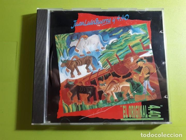 JUAN LUIS GUERRA Y 4:40 - EL ORIGINAL - 1990 - COMPRA MÍNIMA 3 EUROS (Música - CD's Latina)