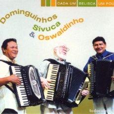 CDs de Música: DOMINGUINHOS, SIVUCA & OSWALDINHO – CADA UM BELISCA UM POUCO - NUEVO Y PRECINTADO. Lote 205450968