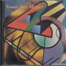 CDs de Música: CD - TOMAS SAN MIGUEL CON JORGE PARDO - VIDA EN CATEDRALES -. Lote 205526333