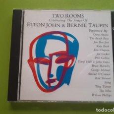 CDs de Música: ELTON JOHN & BERNIE TAUPIN - TWO ROOMS - 1991 - COMPRA MÍNIMA 3 EUROS. Lote 205539277