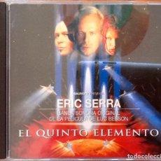 CDs de Música: ERIC SERRA : BSO THE FIFTH ELEMENT [NDL 1997] CD. Lote 238362465