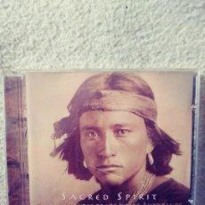 CDs de Música: SACRED SPIRIT : CANTOS & DANZAS DE LOS INDIOS AMERICANOS.CD.1994. (MD). Lote 205544496