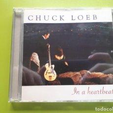 CDs de Música: CHUCK LOEB - IN A HEARTBEAT - 2001 - COMPRA MÍNIMA 3 EUROS. Lote 205555772