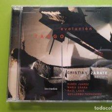 CDs de Música: CRISTIAN ZÁRATE SEXTETO - EVOLUCIÓN TANGO - 2005 - COMPRA MÍNIMA 3 EUROS. Lote 205556353