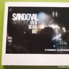 CDs de Música: ARTURO SANDOVAL - LIVE AT THE BLUE NOTE - DIGIPACK - CD + DVD - 2005 - COMPRA MÍNIMA 3 EUROS. Lote 205558938