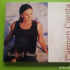 CDs de Música: CARMEN CUESTA - PEACE OF MIND - DIGIPACK - 2001 - COMPRA MÍNIMA 3 EUROS. Lote 205559617