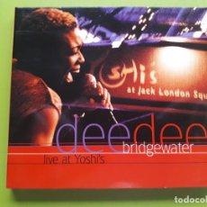 CDs de Música: DEE DEE BRIDGWATER - LIVE AT YOSHI´S - DIGIPACK - 2000 - COMPRA MÍNIMA 3 EUROS. Lote 205560052