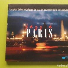 CDs de Música: JAZZ A PARÍS - LES PLUS BELLES MUSIQUES... - DIGIPACK - 1998 - COMPRA MÍNIMA 3 EUROS. Lote 205560836