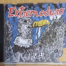 CDs de Música: EXTREMODURO (EN DIRECTO: MAQUETAS' 90) CD 1996. Lote 205562297