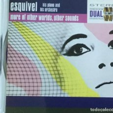 CDs de Música: ESQUIVEL - HITS PIANO AND HITS ORCHESTRA. Lote 205573336