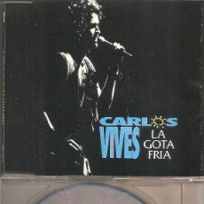 CDs de Música: CARLOS VIVES - LA GOTA FRIA (CDSINGLE CAJA PROMO, PHILIPS 1994). Lote 205578171