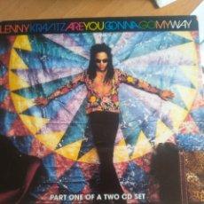 CDs de Música: LENNY KRAVITZ ARE YOU GONNA MY WAY PART ONE (CDSINGLE). Lote 205578616