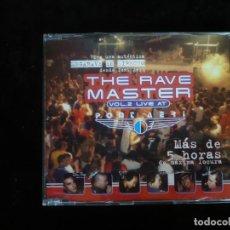 CDs de Musique: THE RAVE MASTER VOL. 2 LIVE AT PONT AERI - 5 CANCIONES - CASI COMO NUEVO. Lote 205582552